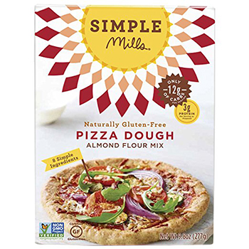 Simple Mills gluten free pizza dough