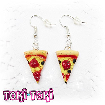 pizza earings