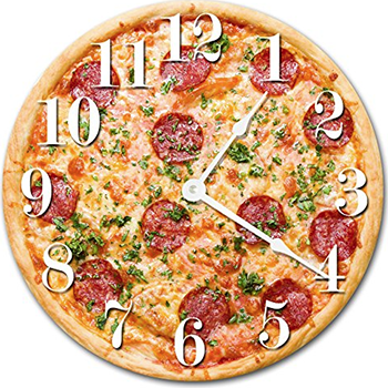 pizza clock