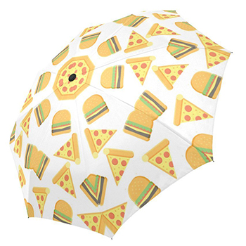 pizza umbrella