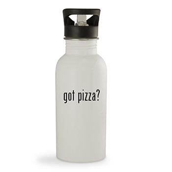 pizza water bottle