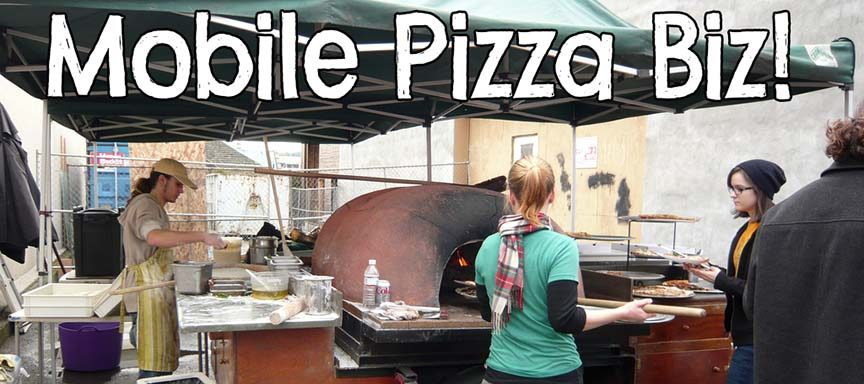 mobile pizza business